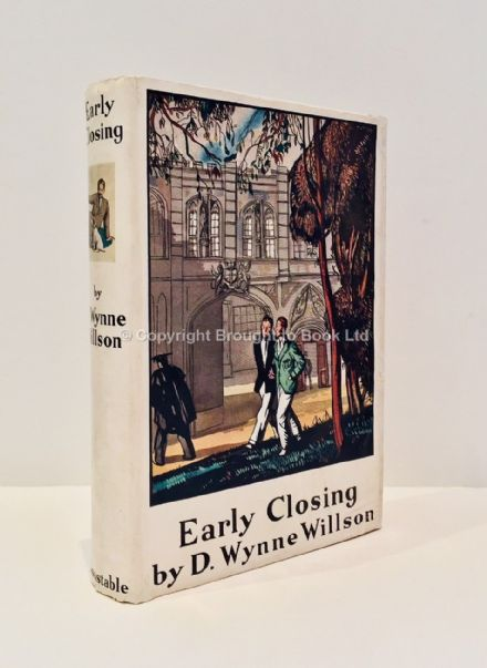 Early Closing by D. Wynne Willson First Edition Constable 1931